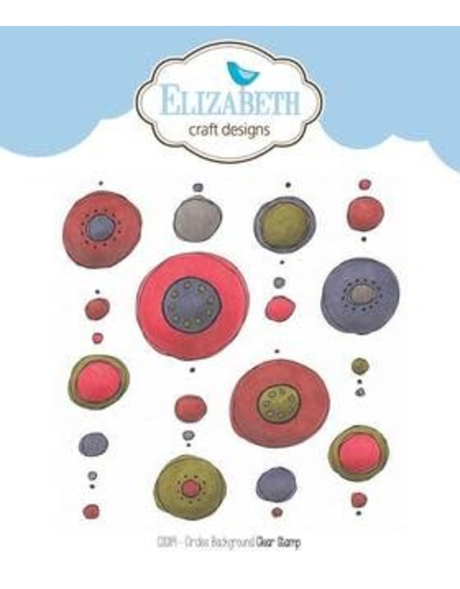 Elizabeth Craft Designs Elizabeth Craft Designs stamps circles background CS089
