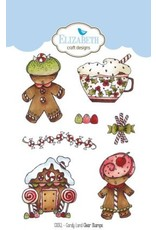 Elizabeth Craft Designs Elizabeth Craft Designs candy land clear stamps CS051
