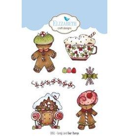 Elizabeth Crafts Design candy land clear stamps CS051