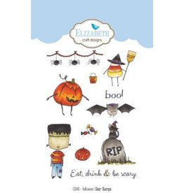 Elizabeth Craft Designs Elizabeth Craft Designs Halloween clear stamps CS048