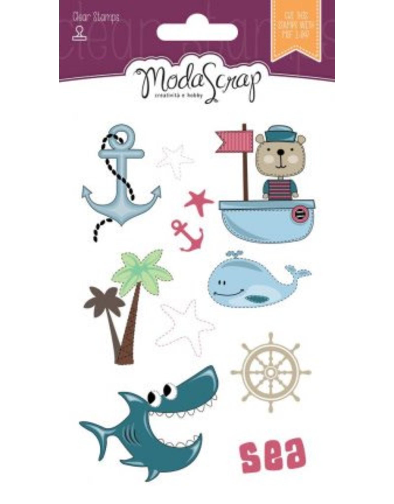 Elizabeth Craft Designs Elizabeth Craft DeElizabeth Craft Designs Sailor's Life - Clear Stamps CS065signs Sailor's life clear stamps CS065