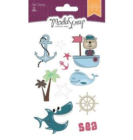 Elizabeth Craft Designs Elizabeth Craft Designs Sailor's life clear stamps CS065