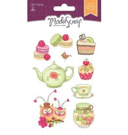Elizabeth Craft Designs Elizabeth Craft Designs Cucina with love clear stamps CS064