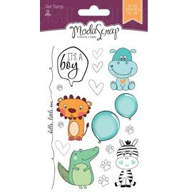 Elizabeth Craft Designs Elizabeth Craft Designs Color of Puppies Boy Clear stamps CS062