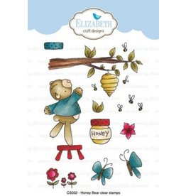 Elizabeth Craft Designs Elizabeth Craft Designs Honey bear stamps CS032