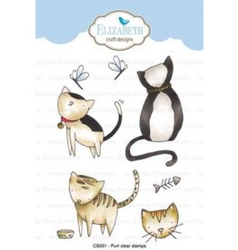 Elizabeth Craft Designs Elizabeth Craft Designs Purr stamps CS031
