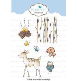 Elizabeth Craft Designs Elizabeth Craft Designs Birch Forest stamps CS028