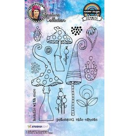 Studio Light Clear Stamp Studio Light Stamp A6 Mixed Media Rainbow Designs nr 13 STAMPMB13