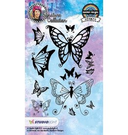 Studio Light Clear Stamp Studio Light Stamp A6 Mixed Media Rainbow Designs nr 18 STAMPMB18