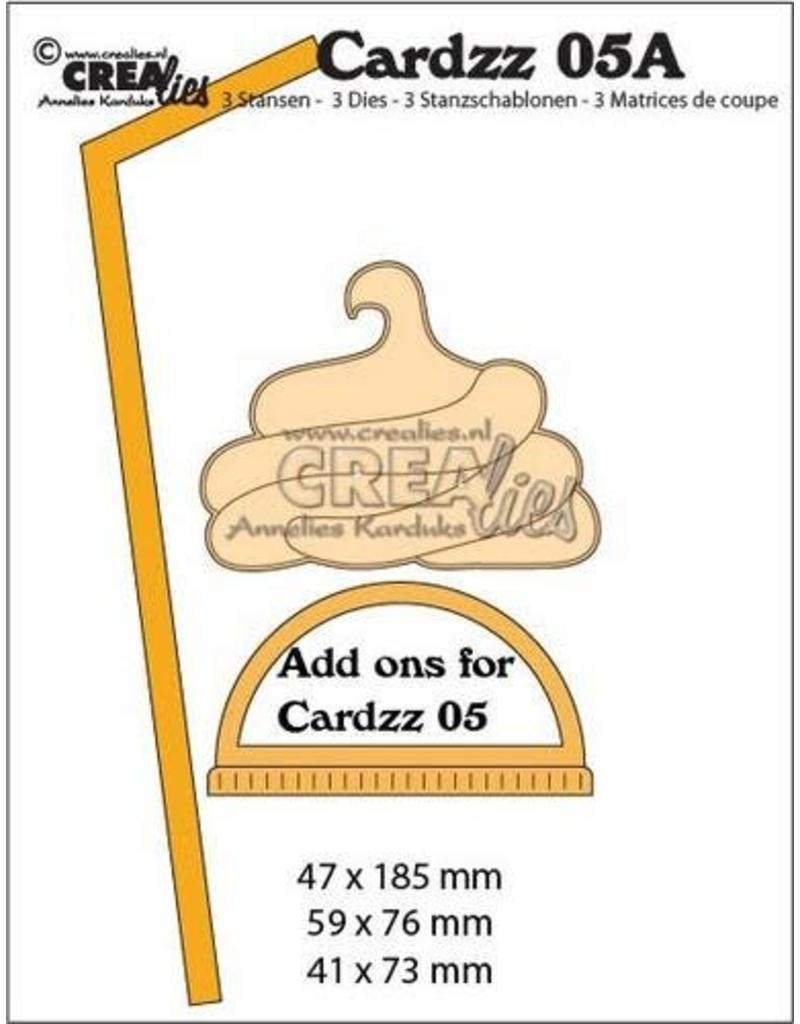 Crealies Cardzz nr 05A Extra`s voor mok om mee te nemen CLCZ05A 47x185, 59x76, 41x73mm