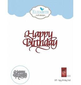 Elizabeth Craft Designs Elizabeth Craft Designs dies Happy Birthday 1439