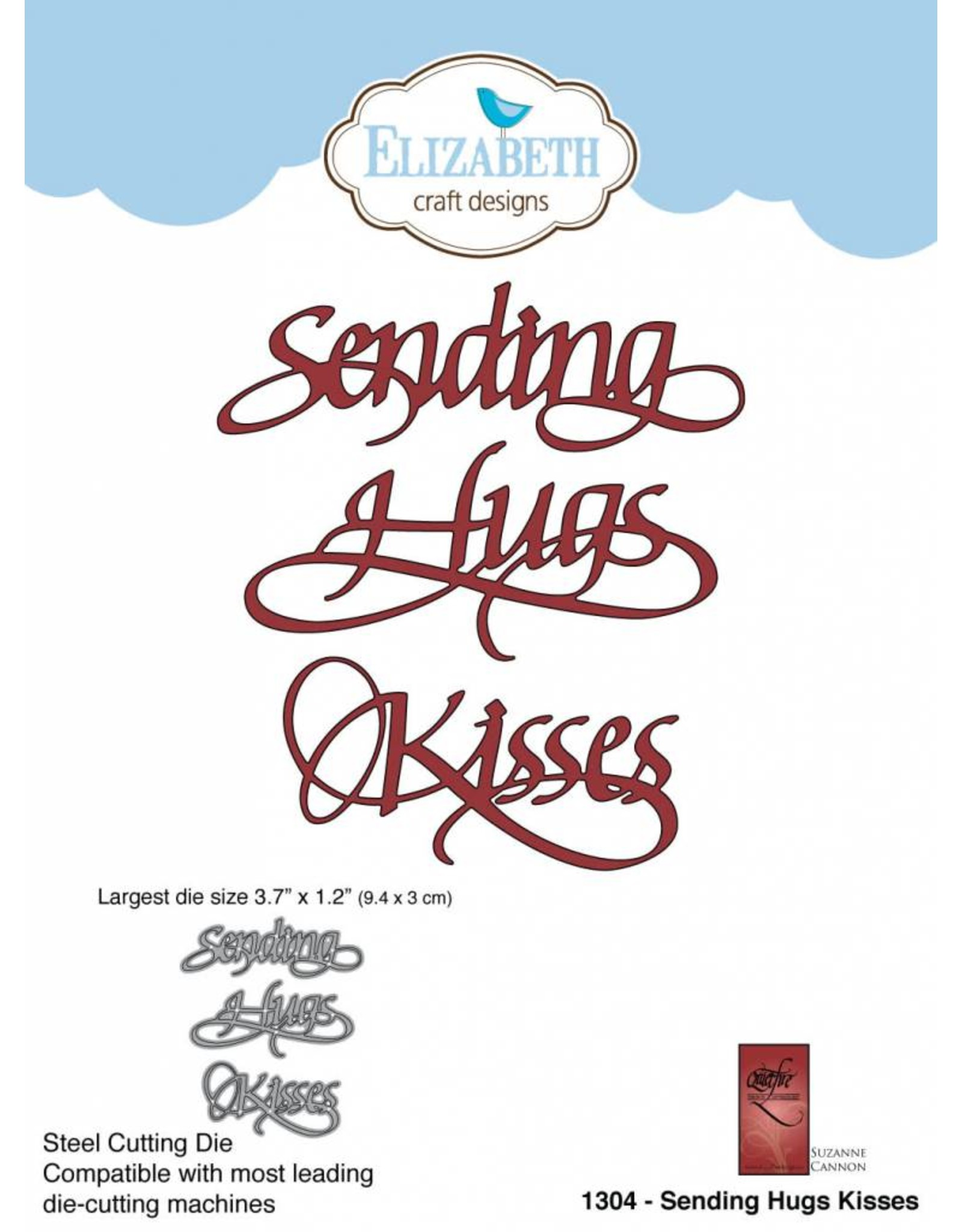 Elizabeth Craft Designs Elizabeth Craft Designs dies Sending Hugs Kisses 1304