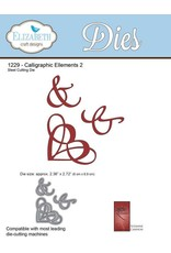 Elizabeth Craft Designs Elizabeth Craft Designs A Way With Words, Calligraphic Ellements 2 1229