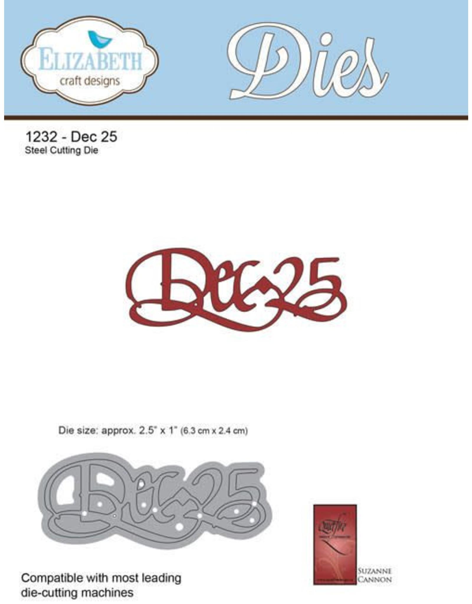Elizabeth Craft Designs Elizabeth Craft Designs dies A Way With Words, Dec-25 1232