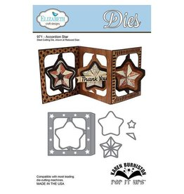 Elizabeth Craft Designs Elizabeth Craft Designs dies Accordion Star by Karen Burniston 971