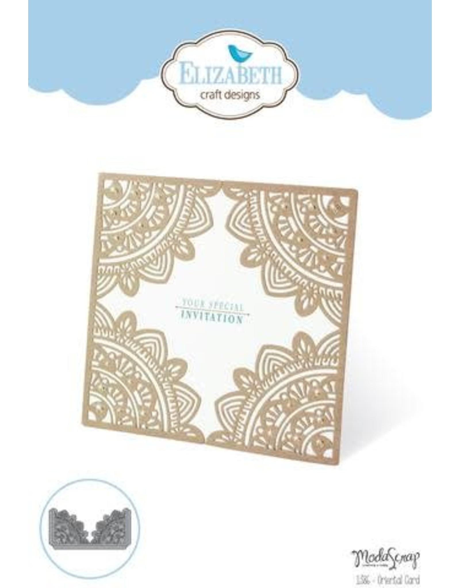 Elizabeth Craft Designs Elizabeth Craft Designs dies Oriental Card 1386