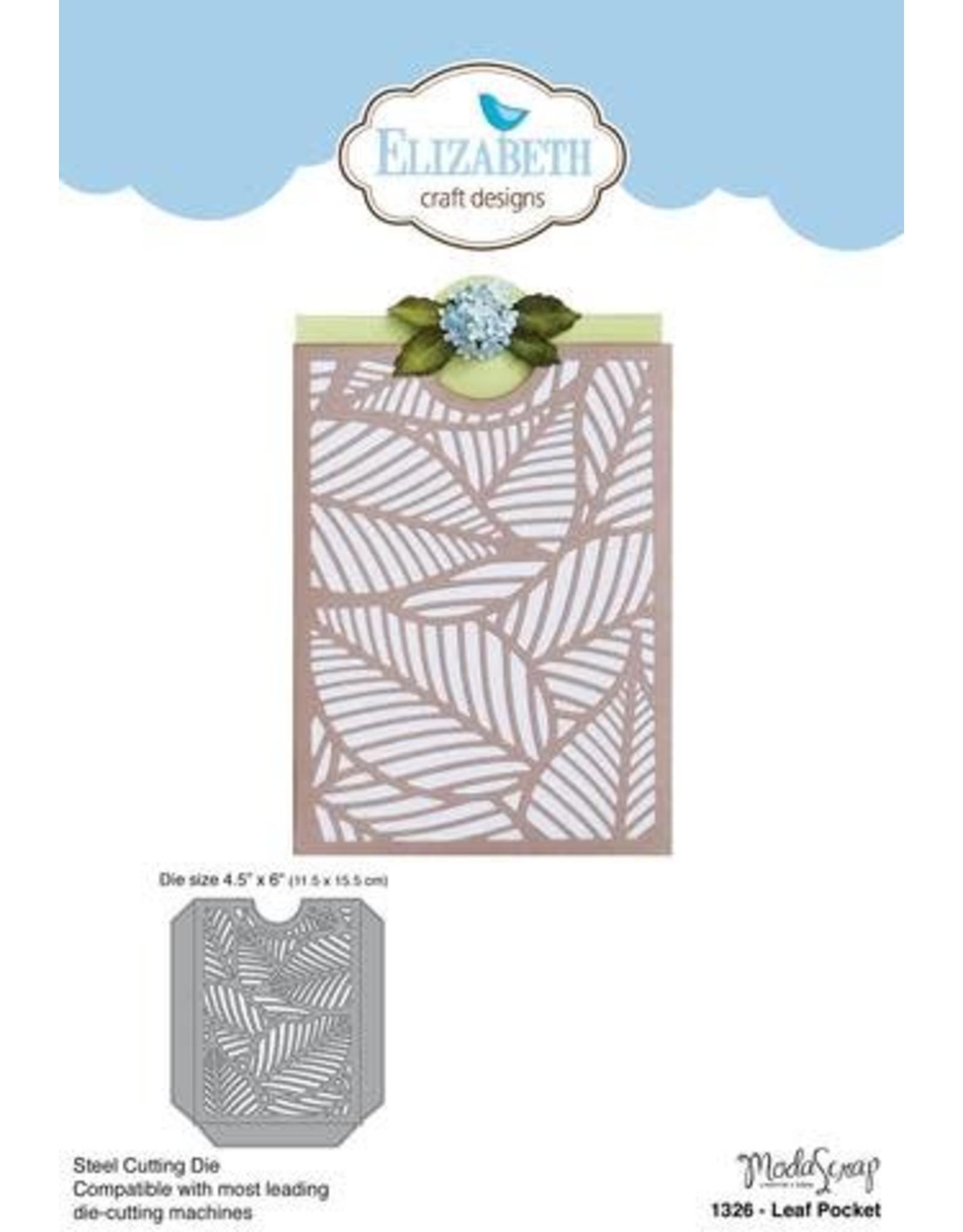 Elizabeth Craft Designs Elizabeth Craft Designs dies Leaf Pocket 1326