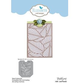 Elizabeth Craft Designs Elizabeth Craft Designs dies Leaf Pocket 1326