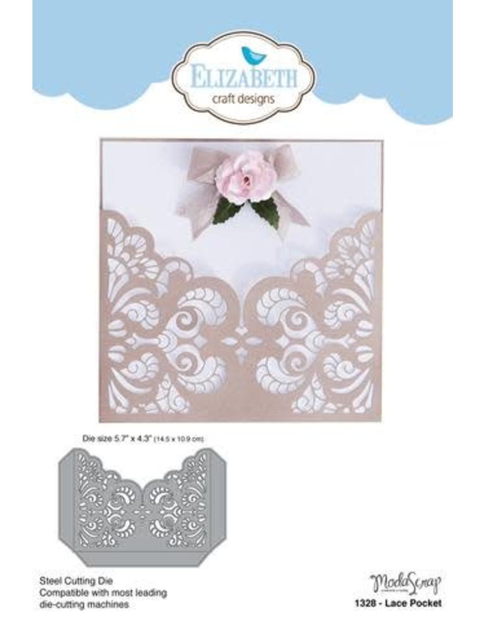 Elizabeth Craft Designs Elizabeth Craft Designs dies Lace Pocket 1328