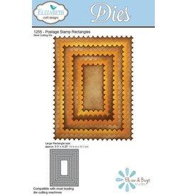 Elizabeth Craft Designs Elizabeth Craft Designs dies Postage Stamp Rectangles 1255