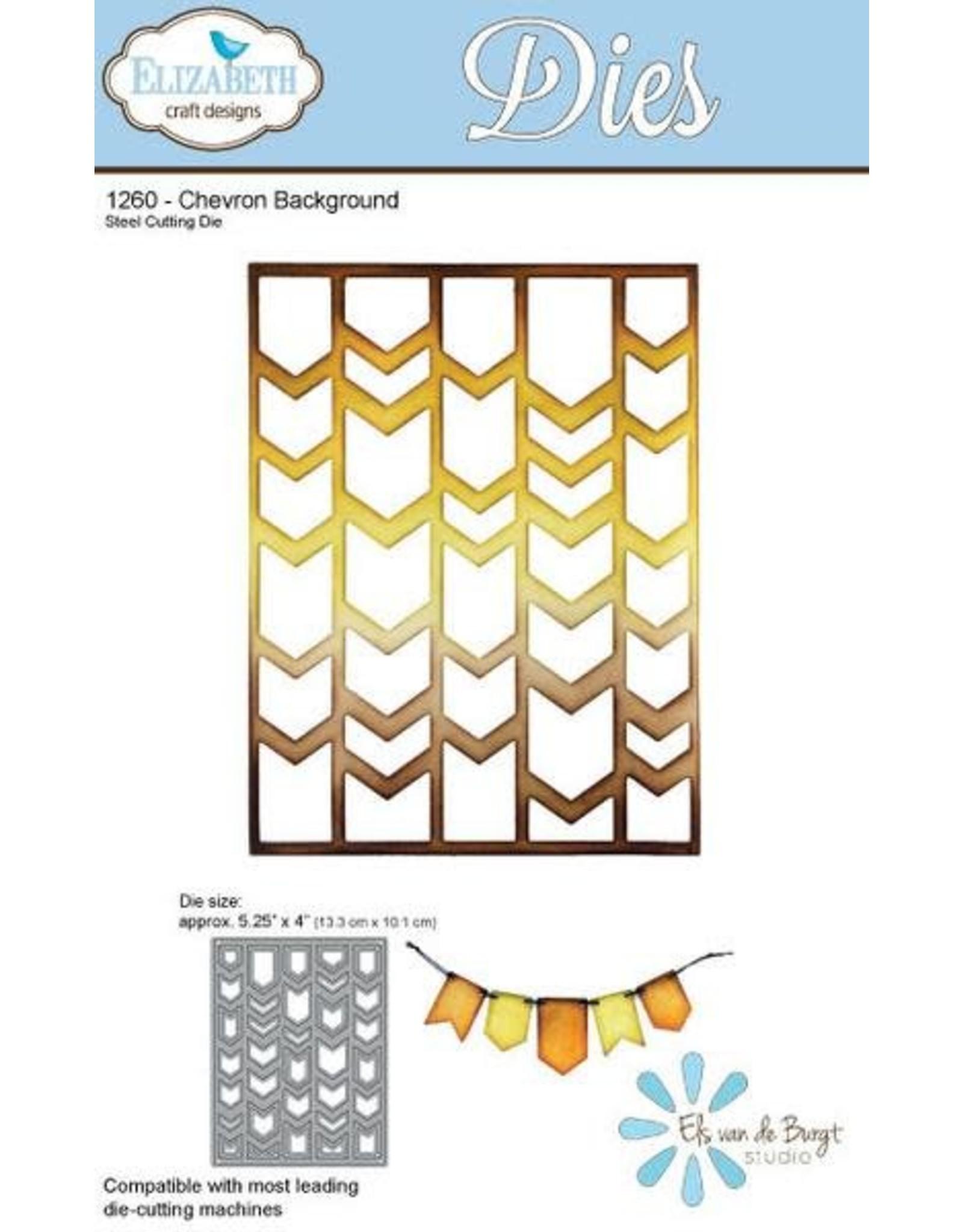 Elizabeth Craft Designs Elizabeth Craft designs dies Chevron Background 1260