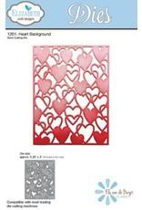 Elizabeth Craft Designs Elizabeth Craft Designs dies Heart Background 1261