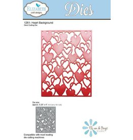 Elizabeth Craft Designs Elizabeth Craft Designs dies Heart Background 1261