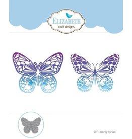 Elizabeth Crafts Design dies Butterfly Aperture 1477