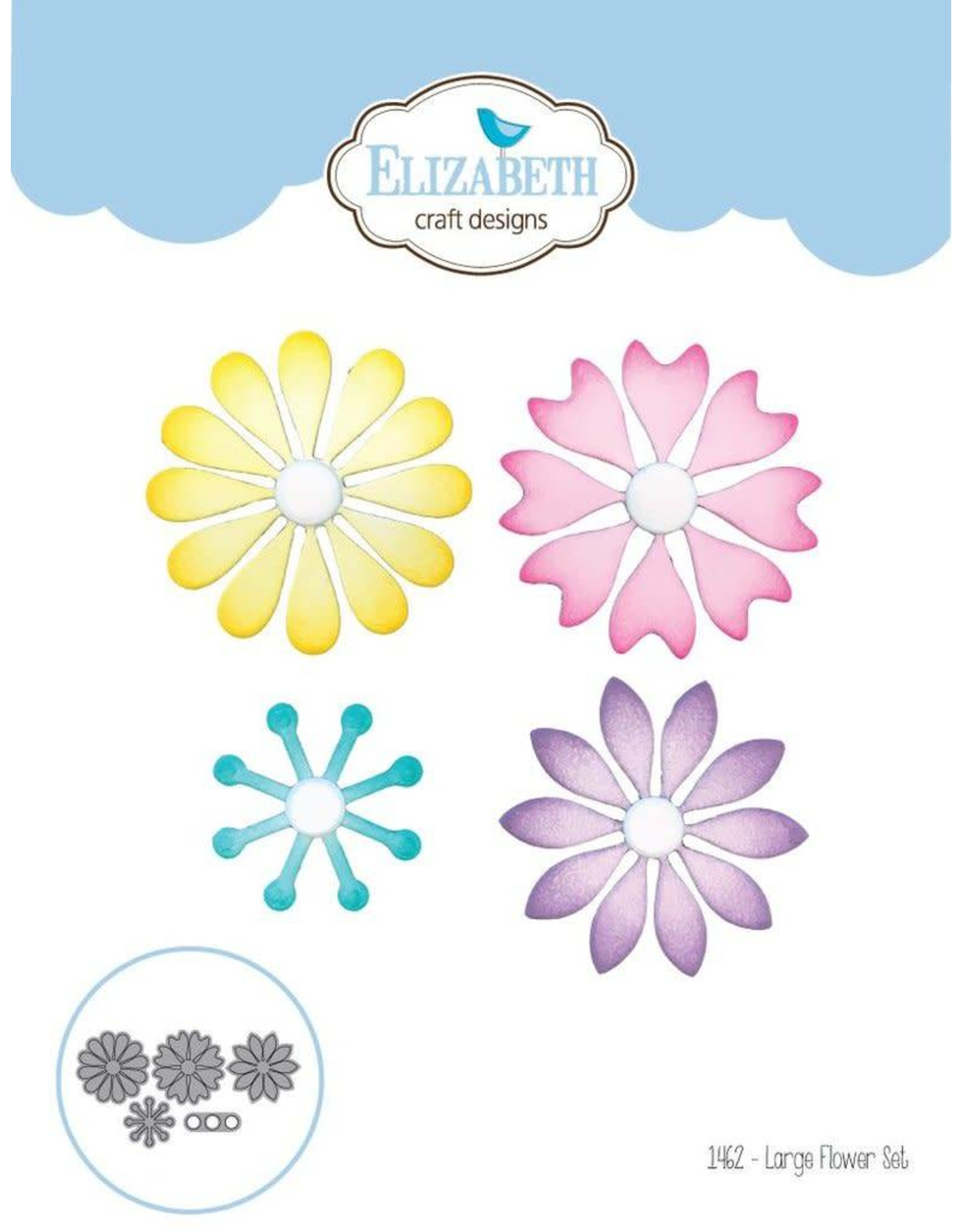 Elizabeth Craft Designs Elizabeth Craft Designs dies Die set - Large Flower Set 1462