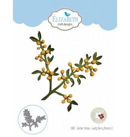 Elizabeth Craft Designs Elizabeth Craft Designs dies Garden Notes - Leafy Berry Branch 1 1482
