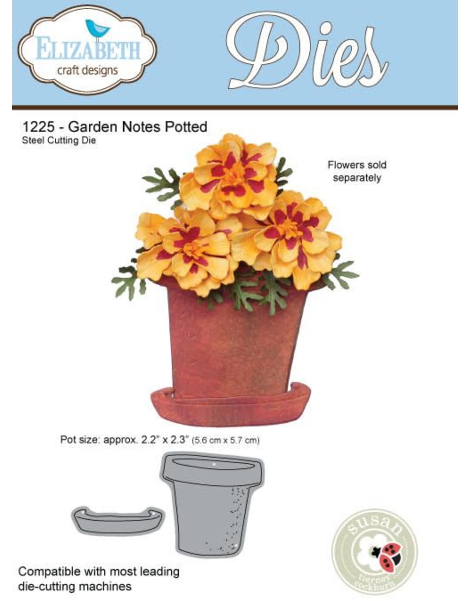 Elizabeth Craft Designs Elizabeth Craft Designs dies Garden Notes - Potted 1225