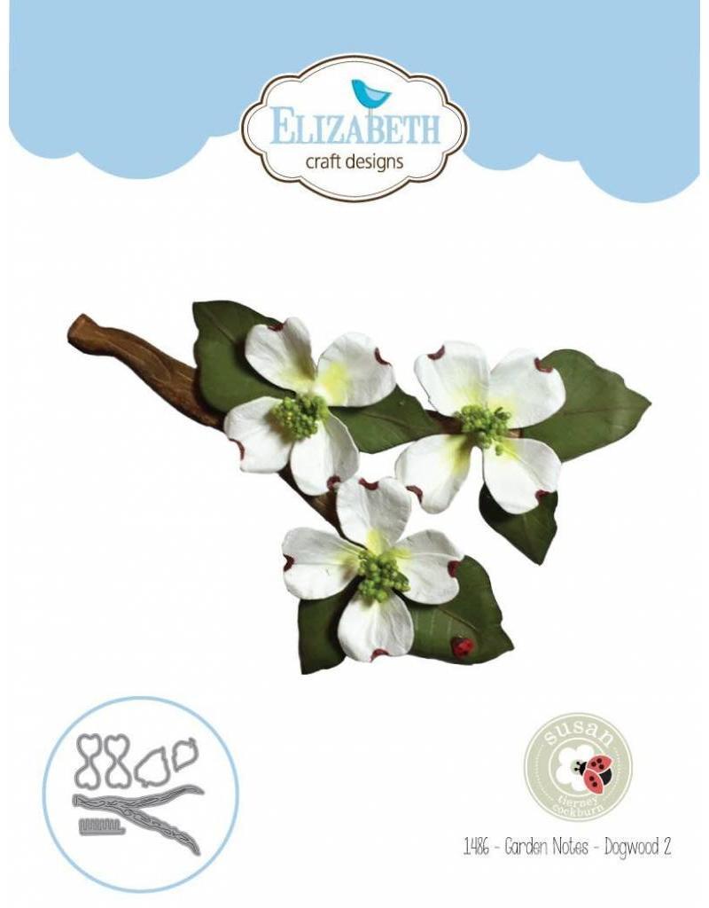 Elizabeth Craft Designs Elizabeth Craft Designs dies Garden Notes - Dogwood 2 1486