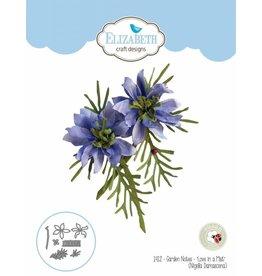 """Elizabeth Craft Designs Elizabeth Craft Designs dies Garden Notes - """"Love in a Mist"""" (Nigella Damascena) 1412"""