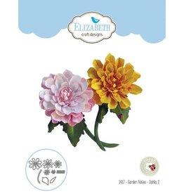 Elizabeth Craft Designs Elizabeth Craft Designs dies Garden Notes - Dahlia 2 1417