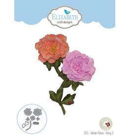 Elizabeth Craft Designs Elizabeth Craft Designs dies Garden Notes - Peony 2 1371