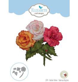 Elizabeth Craft Designs Elizabeth Craft Designs dies Garden Notes - Tuberous Begonia 1374