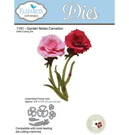 Elizabeth Craft Designs Elizabeth Craft Designs dies Garden Notes Carnation 1191