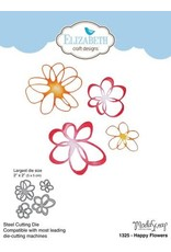 Elizabeth Craft Designs Elizabeth Craft Designs dies Happy Flowers 1325