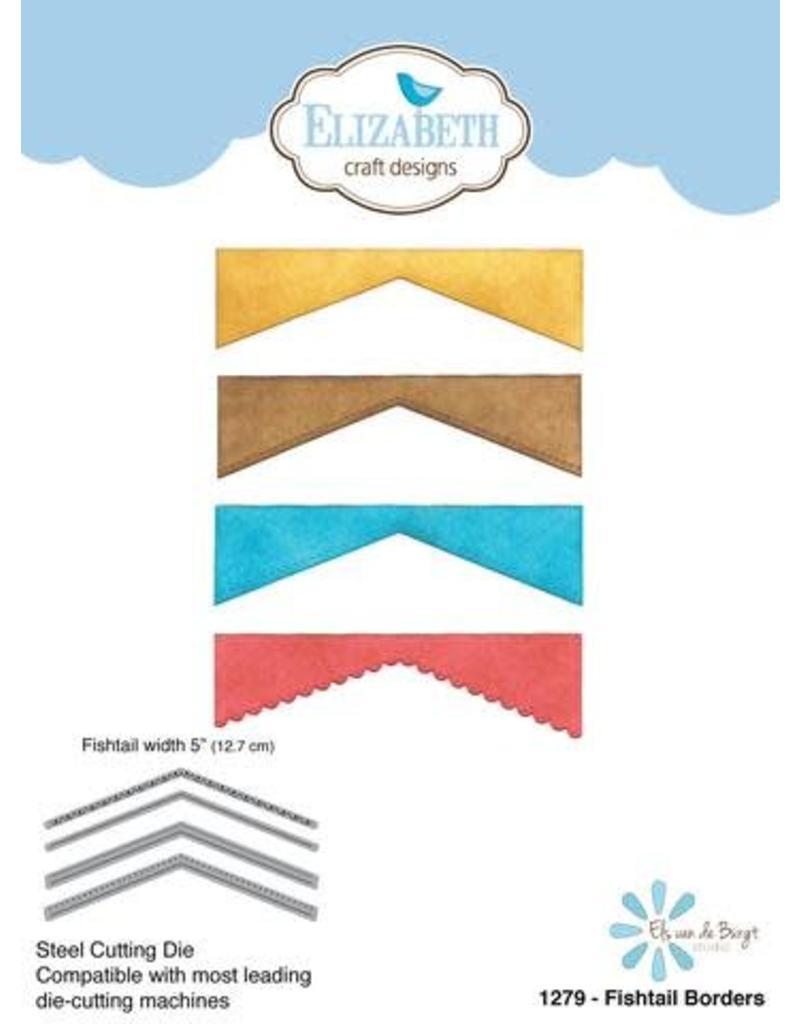 Elizabeth Craft Designs Elizabeth Craft Designs dies Fishtail Borders 1279