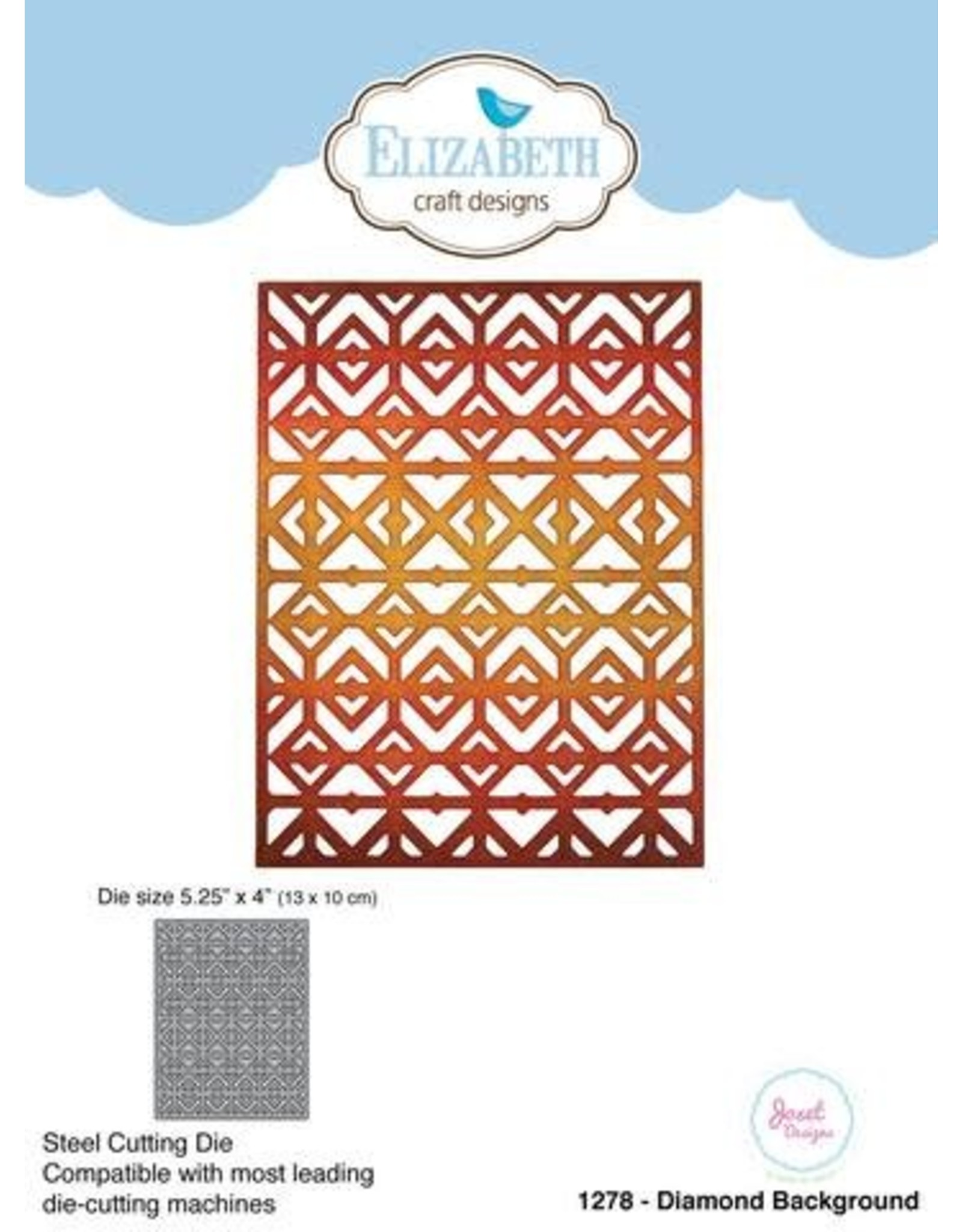 Elizabeth Craft Designs Elizabeth Craft Designs dies Diamond Background 1278