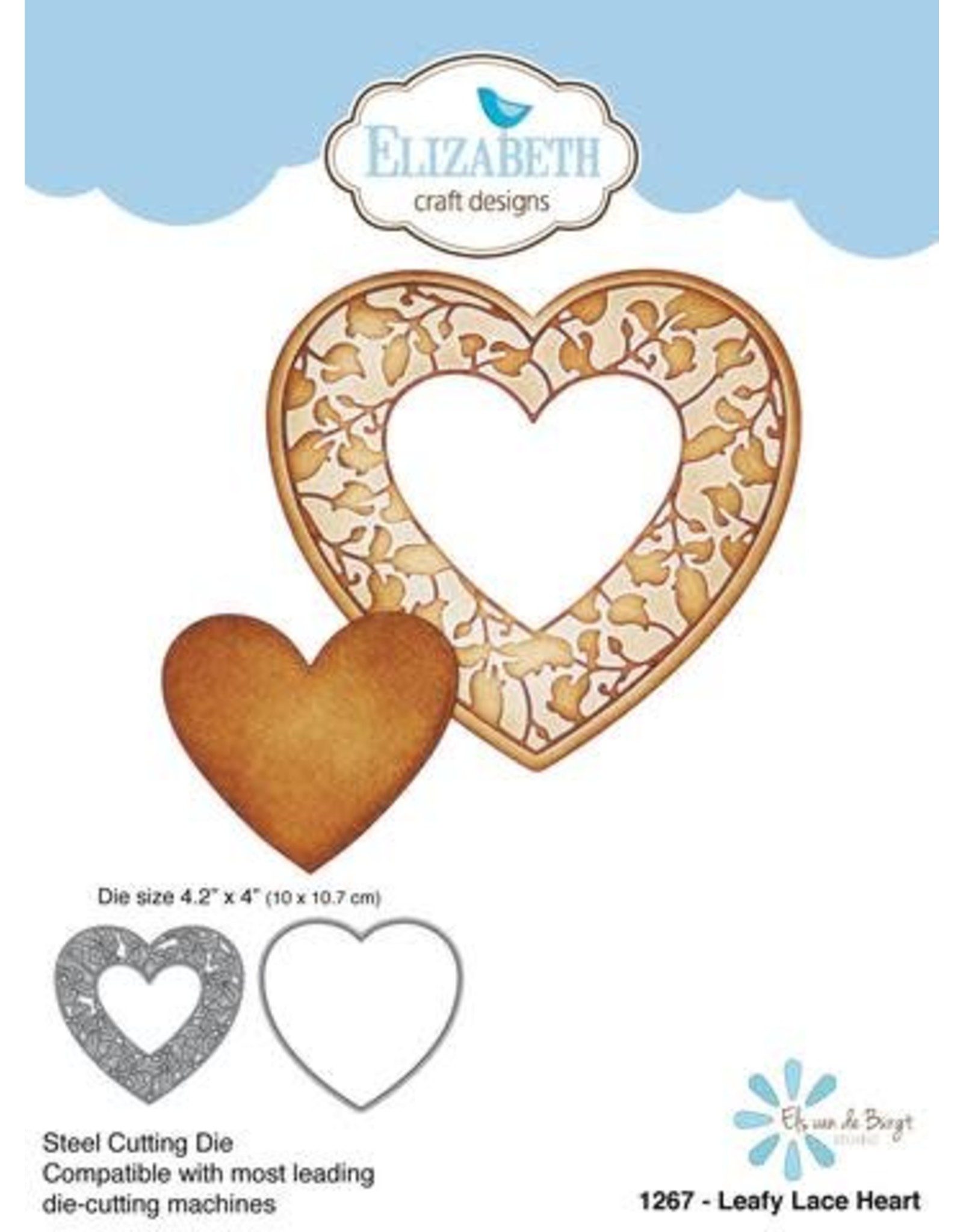 Elizabeth Craft Designs Elizabeth Craft Designs dies Leafy Lace Heart 1267