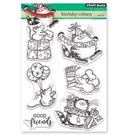 penny black Penny Black Clear Set Stamp Birthday Critters 30-466