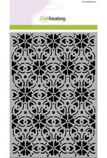Craft Emotions CraftEmotions Mask stencil - patroon ornament hart bloem A5