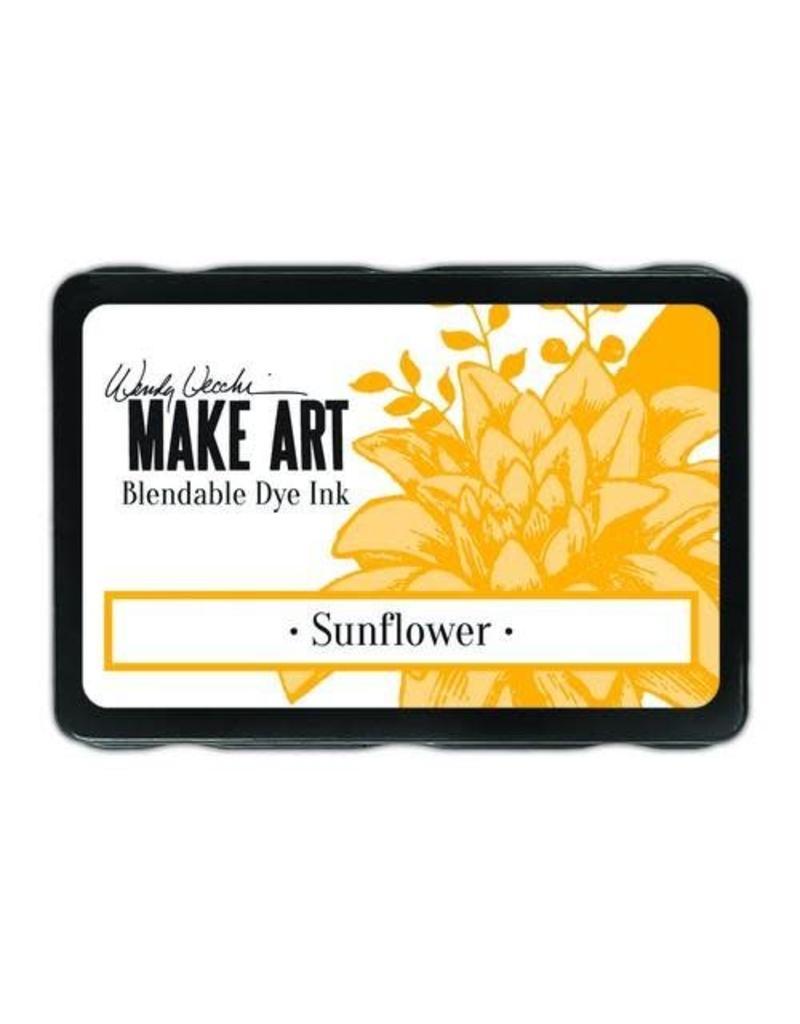 Ranger Make art Ranger MAKE ART Dye Ink Pad Sunflower WVD62653 Wendy Vecchi 5,8x8,3cm