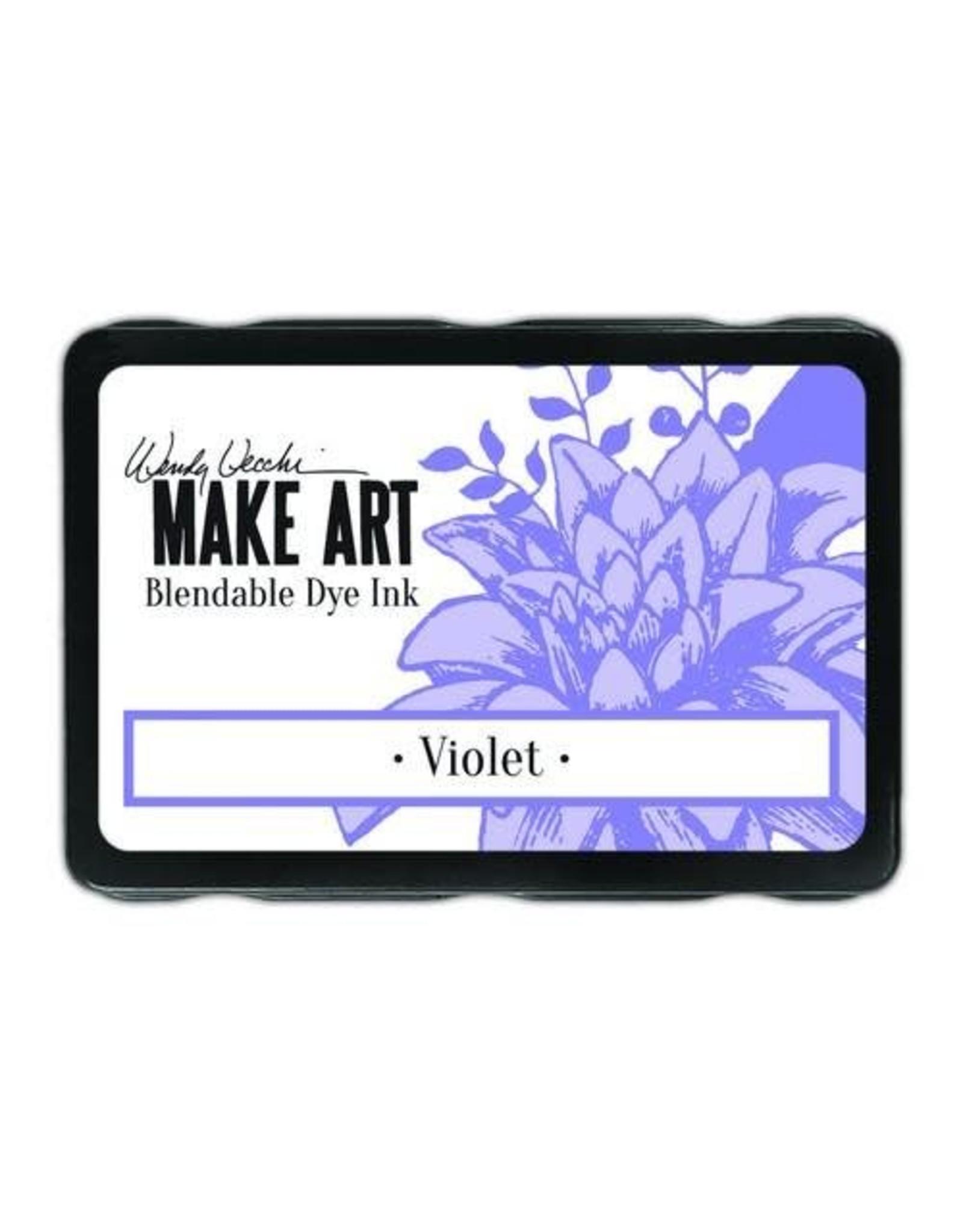 Ranger Make art Ranger MAKE ART Dye Ink Pad Violet WVD62660 Wendy Vecchi 5,8x8,3cm