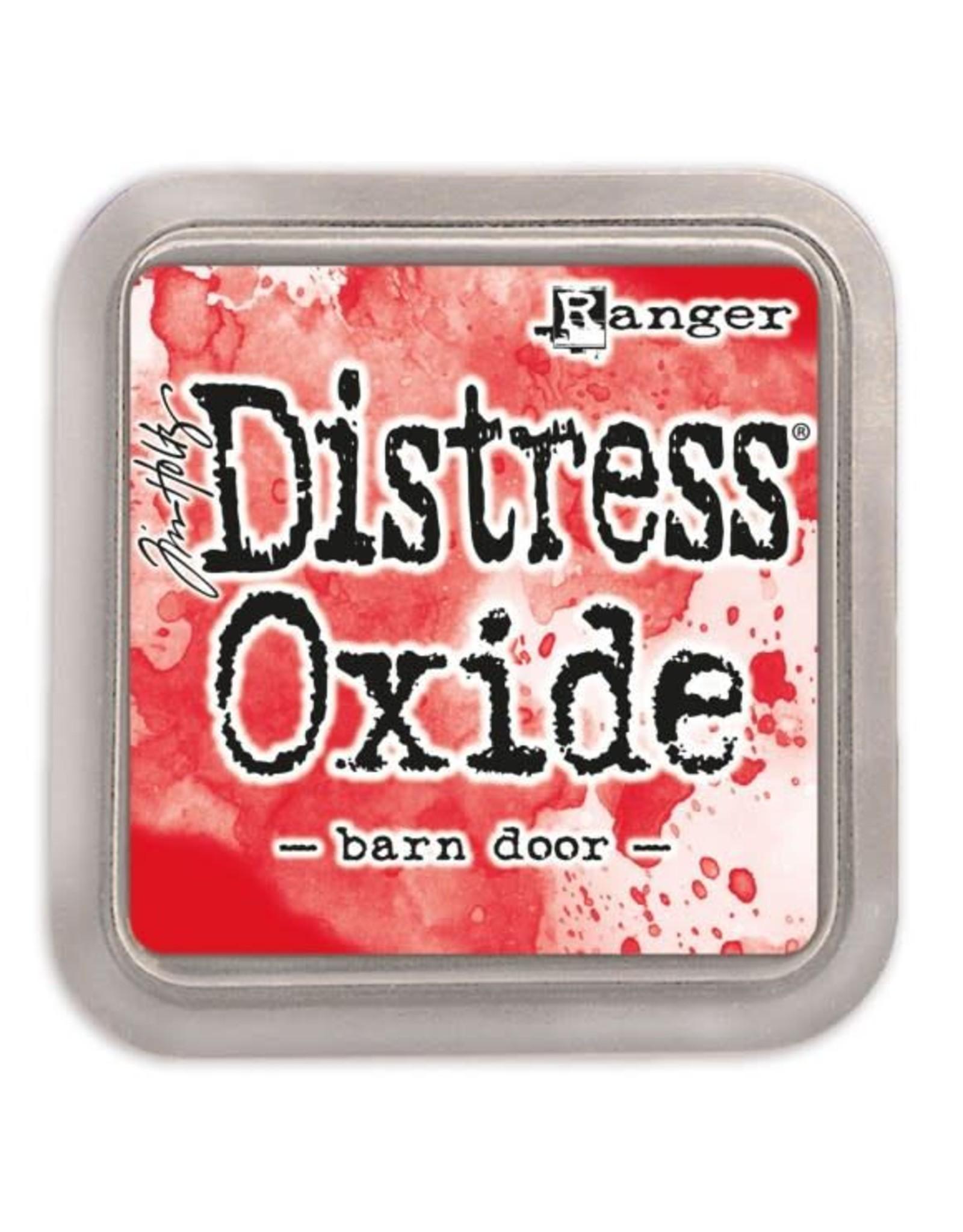 Ranger Distress Ink Pad Ranger distress oxide barn door