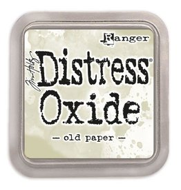 Ranger Distress Oxide Ranger distress oxide old paper