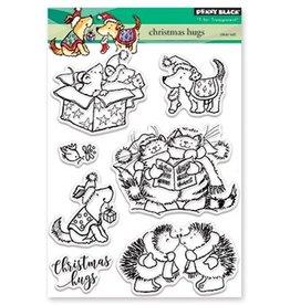 Penny Black Clear Set Stamp Christmas Hugs 30-441
