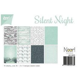 Joy Crafts Papierset- Noor - Silent Night  A4 6011/0570