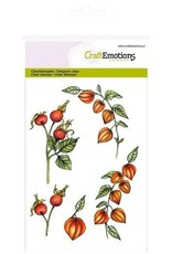 Craft Emotions CraftEmotions clearstamps A6 - lampionplant